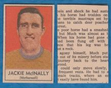 Motherwell Jackie McInally 1970